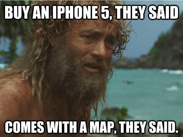 mapy iPhone 5