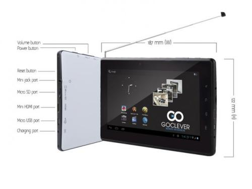nowy tablet goclever z gps i tv